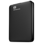 Western Digital WD Elements Portable 2.5 Inch externe HDD 1TB, Zwart