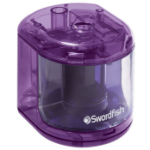 Swordfish 40003 pencil sharpener Electric pencil sharpener Purple