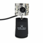 Ewent EW1089 640 x 480Pixels USB 2.0 Zwart webcam