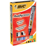 BIC Marking 2000 Bullet tip Black,Blue,Green,Red 4pc(s) permanent marker