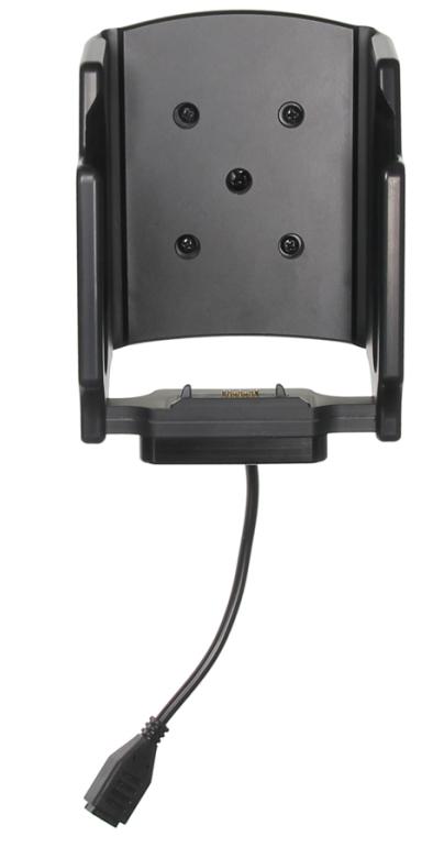 Zebra 3PTY-PCLIP-241424 soporte Equipo móvil portátil Negro Soporte activo para teléfono móvil