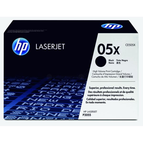 HP CE505X (05X) Toner black, 6.5K pages