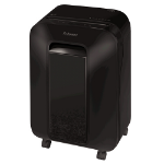 Fellowes LX201 paper shredder Micro-cut shredding 23 cm Black