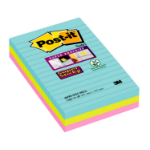 Post-It 4690-SS3-MIA self-adhesive note paper Rectangle Aqua colour,Lime,Pink 90 sheets