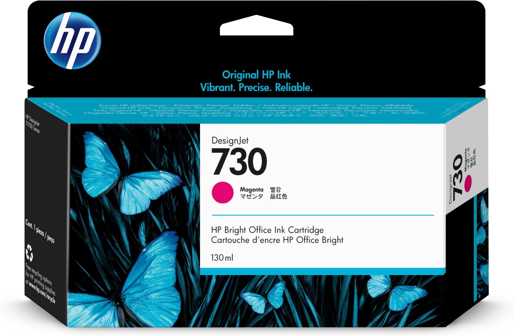 HP 730 Original Magenta Rendimiento estándar