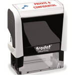 Trodat Office Printy 4912 White Private & Confidential