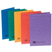 EUROPA Square Cut Folders Pressboard A4 Assorted Ref 4820 [Pack 50]