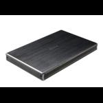 "Akasa AK-EN2SU3-1B storage drive enclosure 2.5"" HDD/SSD enclosure Black"