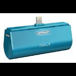 iWALK Link Me 3000L Lithium-Ion (Li-Ion) 3000mAh Blue power bank