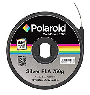 Polaroid PL-6013-00 3D printing material Polylactic acid (PLA) Silver 750 g