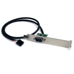 StarTech.com 24in Internal USB Motherboard Header to Serial RS232 Adapter ICUSB232INT1