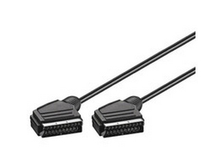 Microconnect Scart - Scart 1.5m SCART cable SCART (21-pin) Black