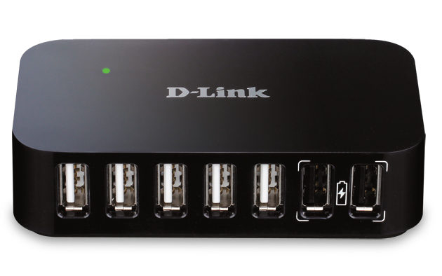 Hub USB Dub-h7 7-port USB 2.0 High-speed With 1x USB Uplink