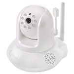 Edimax Technology Co. Edimax Smart HD Wi-Fi Pan/Tilt Network Camera with Temperature & Humidity Sensor, Day & Night