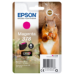 Epson Squirrel Singlepack Magenta 378 Claria Photo HD Ink