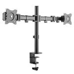 """MCL SPB-270/2 soporte de mesa para pantalla plana 68,6 cm (27"""") Negro"""