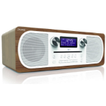 Pure Evoke C-D6 Digital 20W White,Wood CD radio