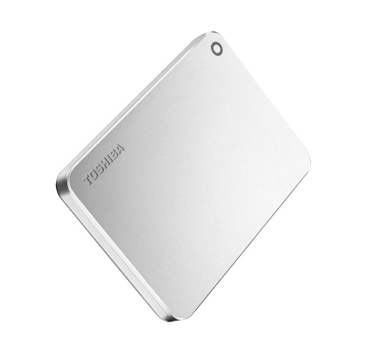 Toshiba Canvio Premium 3TB 3000GB Metallic,Silver