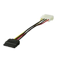 Goobay CAK SATA 4P/S-ATA power adapter 0.13 m