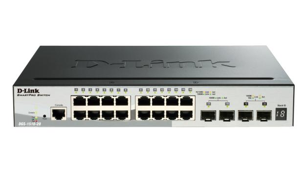D-Link DGS-1510 Gestionado L3 Gigabit Ethernet (10/100/1000) Negro Energía sobre Ethernet (PoE)