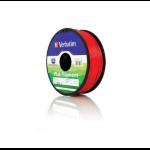 Verbatim PLA 3D Filament, Red 55270
