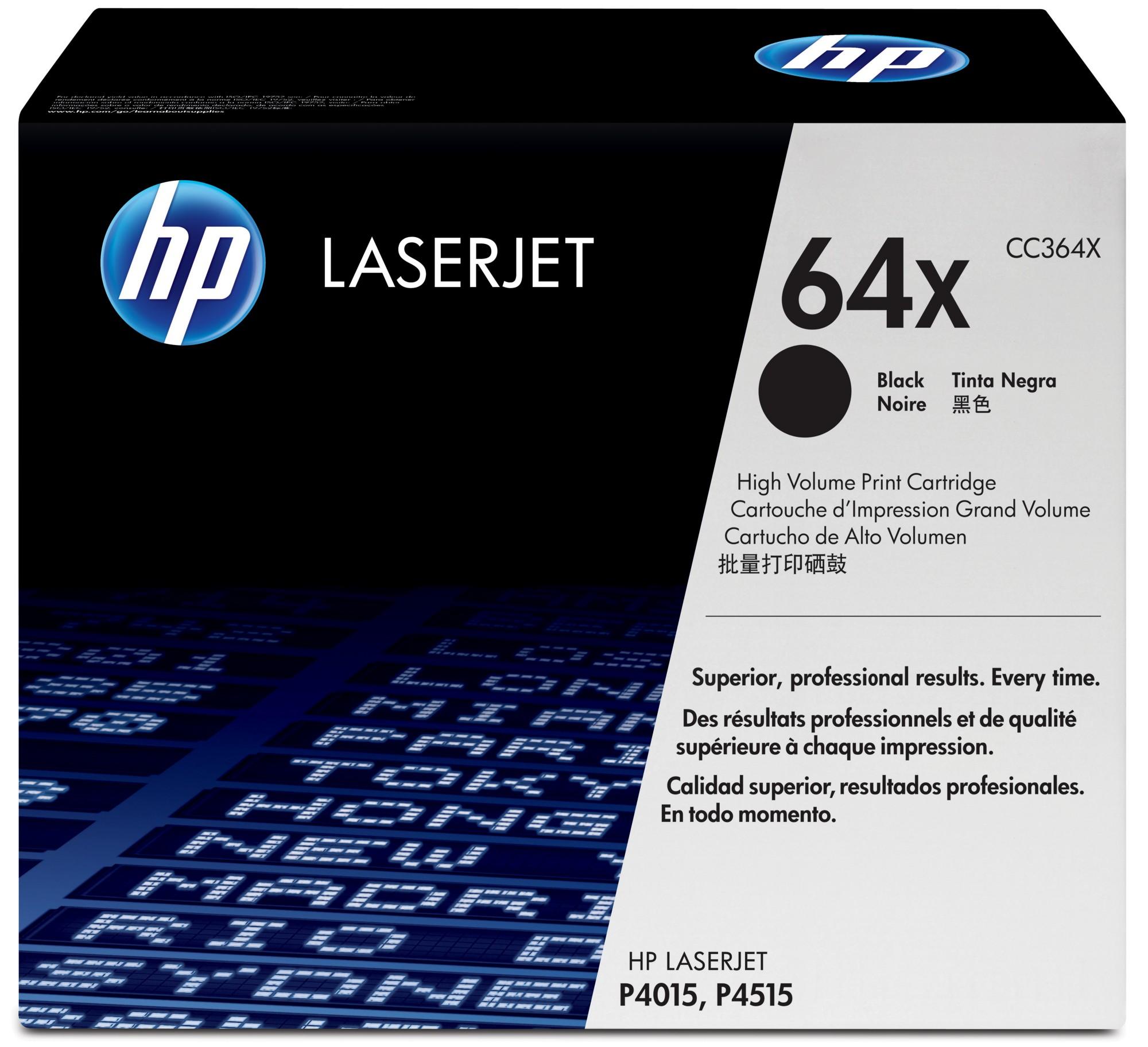 HP 64X Origineel Zwart 1 stuk(s)