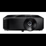 Optoma S334e beamer/projector 3800 ANSI lumens DLP SVGA (800x600) 3D Desktopprojector Zwart