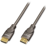 Lindy 0.5m Gold HDMI Cable 1m HDMI HDMI Black