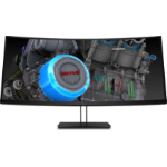 "HP Z38c 37.5"" 3840 x 1600 pixels Ultra-Wide Quad HD+ LED Curved Black"