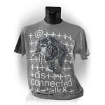 WATCH_DOGS WATCH DOGS Monkey Small T-Shirt, Grey (GE1668S)