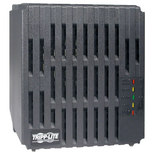 Tripp Lite 2000W 230V AVR Line Conditioner, Power Conditioner, AC Surge Protector, 6 Outlets, Uniplug adapter