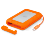 LaCie Rugged 250 GB Grey, Orange