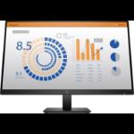 """HP P27q G4 68.6 cm (27"""") 2560 x 1440 pixels Quad HD LCD Black"""