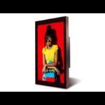 "DynaScan DO552LR4 signage display 141.3 cm (55.6"") LED Full HD Digital signage flat panel Black Android 7.1"