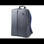 "HP 15.6 in Value Backpack 15.6"" Backpack Blue,Grey"