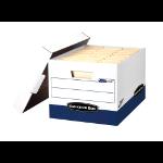 Fellowes 0063601 Blue,White file storage box/organizer