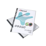 Rexel Ecodesk A4 Pockets Clear (25)