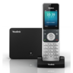 Yealink SIP-W56P Wireless handset 5lines LCD Black,Silver IP phone