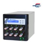 Microboards Technology CopyWriter FLASH USB Duplicator; 1 Reader Port and 7 Recorder Ports