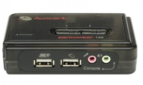 Vertiv Avocent SwitchView 100 Series KVM switch Black