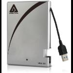 Apricorn Aegis Portable 3.0 500GB external hard drive Black,Silver