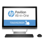 """HP Pavilion 24-b015a 2.2GHz i5-6400T 23.8"""" 1920 x 1080pixels Touchscreen Silver All-in-One PC"""