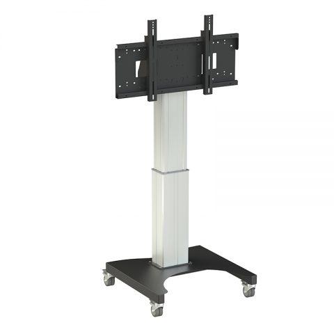 Loxit Hi-Lo Mono 500 Mobile Screen Lift Multimedia cart Black,Stainless steel