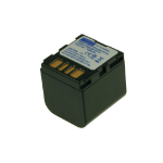 2-Power Camcorder Battery 7.2v 1400mAh rechargeable battery