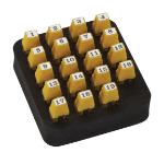 Black Box SOHOTEST-RJ45 network cable tester Black,Yellow