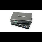 iogear GCE500U AV extender AV transmitter Black