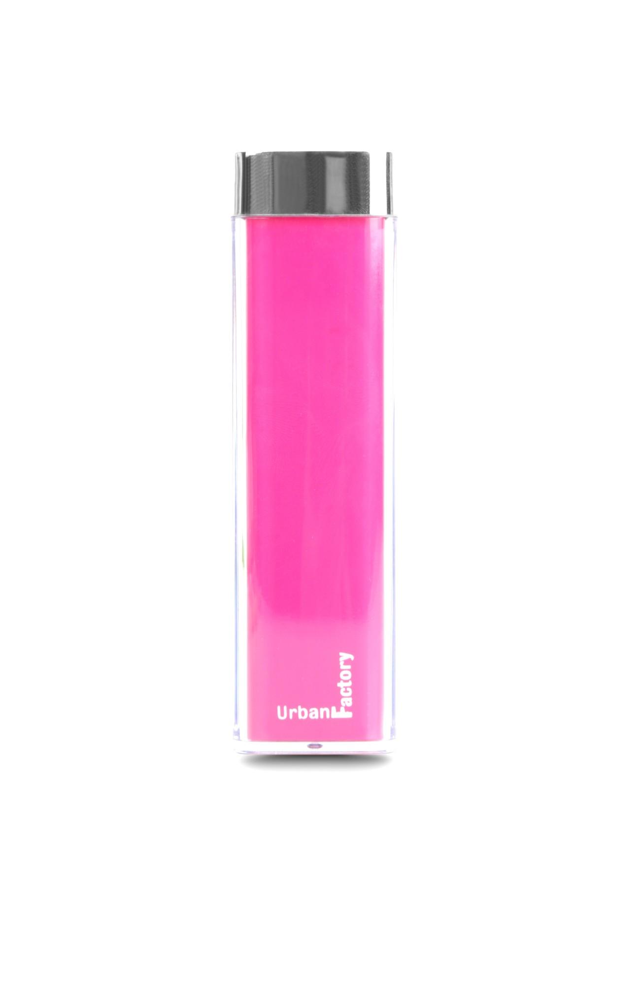 Urban Factory Lipstick batería externa Fucsia 2600 mAh
