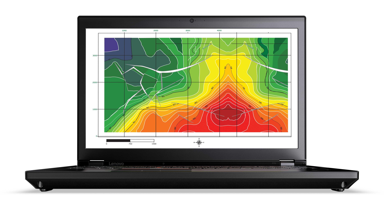 "Lenovo ThinkPad P70 2.6GHz i7-6700HQ 17.3"" 1920 x 1080pixels Black"