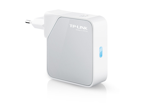TP-LINK (TL-WR810N) 300Mbps Wireless Mini Pocket Router  AP USB Built-in Power Adapter