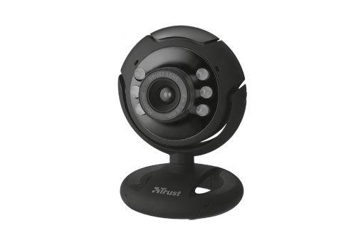 Trust SpotLight Pro webcam 1.3 MP 1280 x 1024 pixels USB 2.0 Black